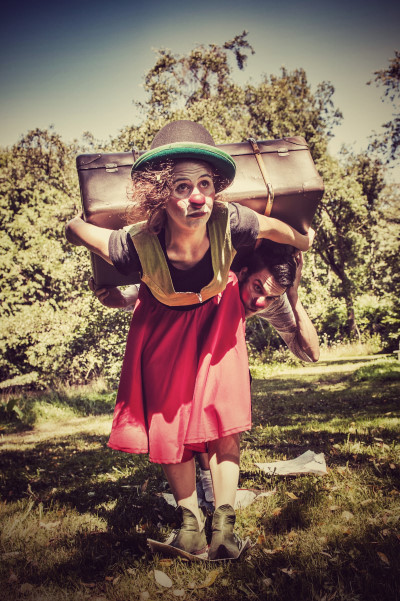 Tine Florine und Clown Nieb
